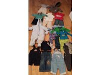 Baby clothes bundle 6-9