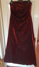 Size 14/16 maternity ball gown