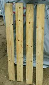 """4"""" x 3/4"""" (116cm x 100mm x 18mm) Planed Timber"""
