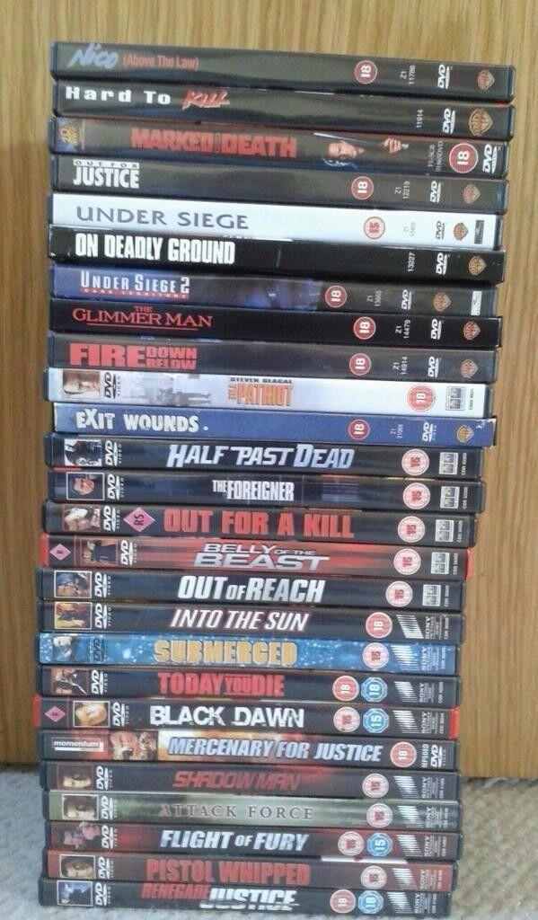 Steven Segal DVD's