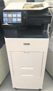 Only 37 Pages Printed DEMO UNIT Xerox VersaLink C505 Color office Multifunction Laser Printer High Speed 45 PPM NEWER