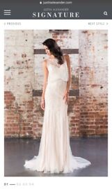 Wedding Dress - Justin Alexander Signature - NEVER WORN OR ALTERED