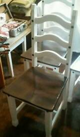 4x up cycled Dinning chairs for sale