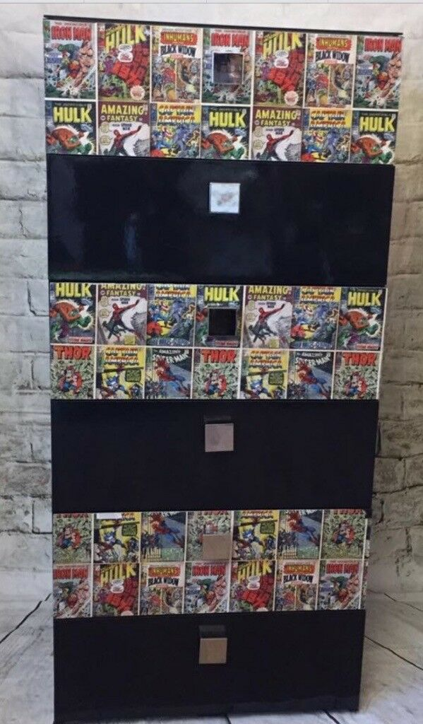 Chest drawers marvel superheroes