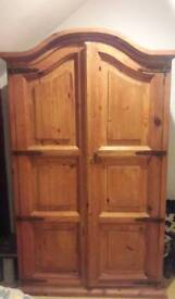 Solid wood wardrobe for sale