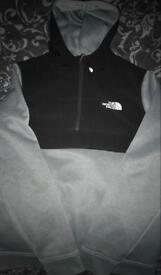 The North Face Hoodie 1/4 Zip!