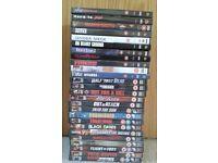 25 Steven Segal DVD's