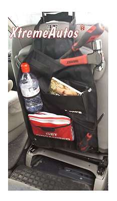 Seat Back Organiser With Storage Compartments For All Car Models With Headrests