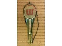 2 Wilson Racquets