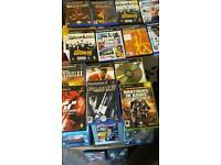 PLAYSTATION 2 GAMES & 3 XBOX GAMES