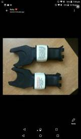Maxi cosi carseat adaptors