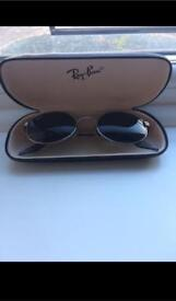 Genuine Vintage Bausch & Lomb Ray Ban W2187 G15 Oval Chrome SIDESTREET Sunglasses