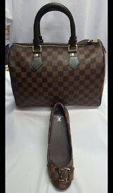 Christmas combo #louisvuitton shoes bag and purse louis vuitton speedy bag shoes