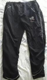 wwe talent exclusive tracksuit bottoms very rare