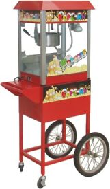 Popcorn Maker - Trolley included 8oz Brand New