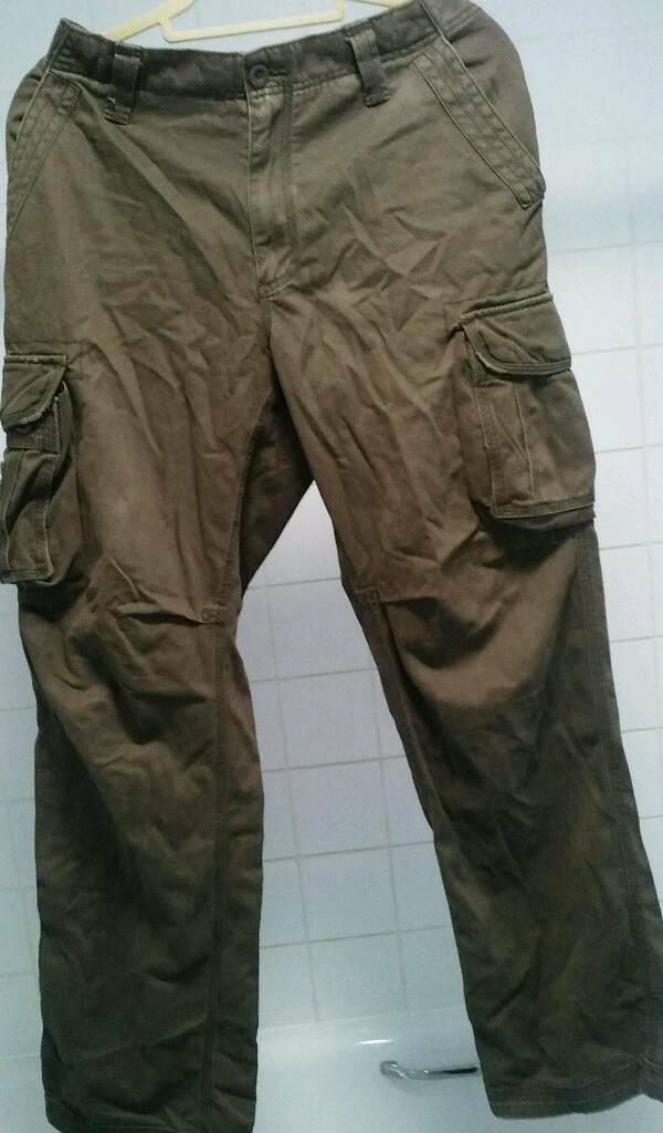 Brown Combat Trousers