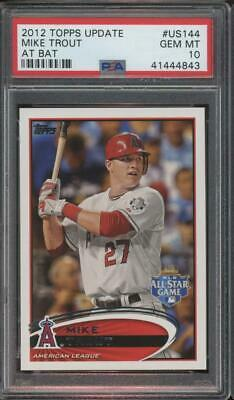 2012 Topps Update At Bat #US144 Mike Trout Gem Mint PSA 10
