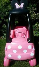 Little Tikes Disney Minnie Mouse Cozy Coupe Car