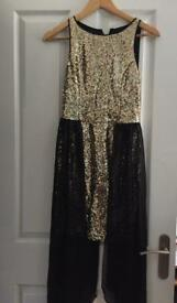 Brand new all over sequin LIPSY dress size 8