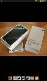 Brand new Samsung S6 black sapphire unlocked
