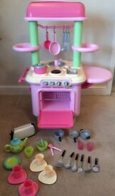 Early Learning Center Pink Kitchen, with lots included