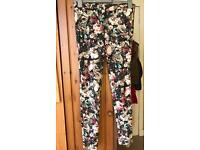Zara patterned leggings