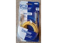Unopened Belkin Cat 5e Crossover Lan Patch Cable PC to PC RJ45 Male/Male 10ft