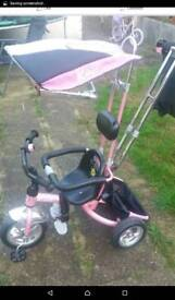Girls 5 in 1 trike