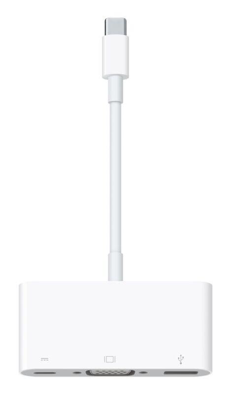 Apple USB-C VGA Multiport Adapter White MJ1L2AM/A
