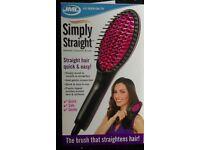 Simply Straight Ceramic Hair Brush