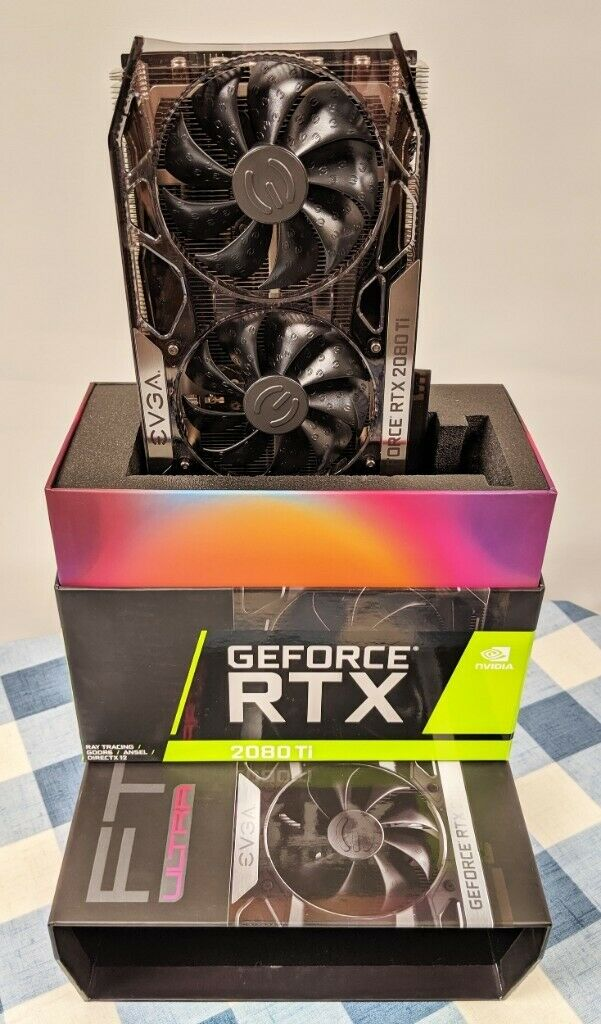 EVGA GeForce RTX 2080 Ti FTW3 Ultra 11GB GPU Graphics Card - As New  Condition *Boxed with Warranty* | in Yate, Bristol | Gumtree