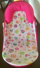 Baby bath seat/support