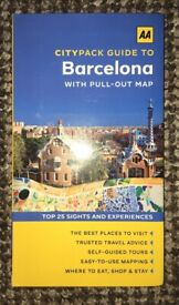 AA Citypack Barcelona Guide book