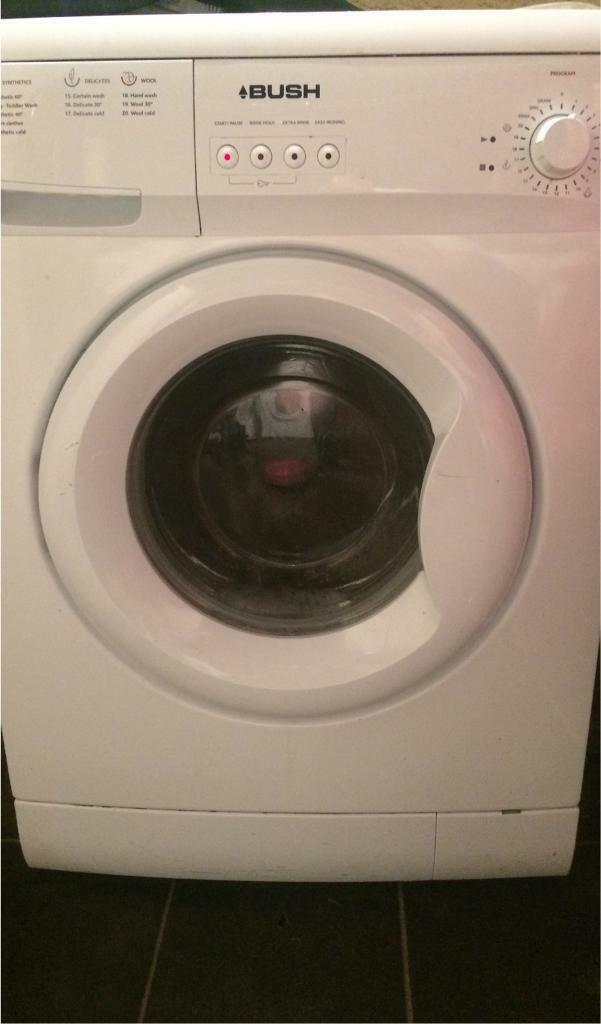 Bush 6kg 1200spin washing machine free local delivery if required