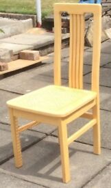 6 Dining Chairs and Matching Table