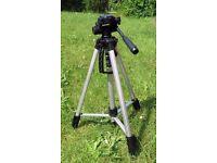 SL-2400 Deluxe Lightweight Video/Photo Camera Tripod - NEW