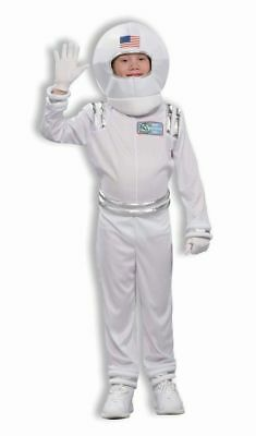 Astronaut Child Halloween Costume Spaceman Medium 8-10 Outer Space Travel Helmet