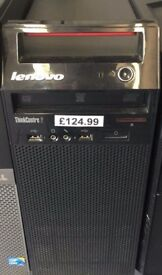 LENOVO THINK CENTRE EDGE TOWER, WINDOWS 7 FRESHLY INSTALLED, 6GB RAM ,500GB HDD