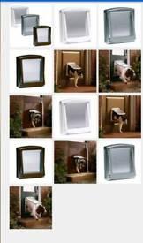 Dog flip door