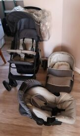 Hauck Pushchair set
