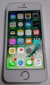 Apple iPhone 5s 16GB White&Silver Vodafone/Lebara/TalkTalk