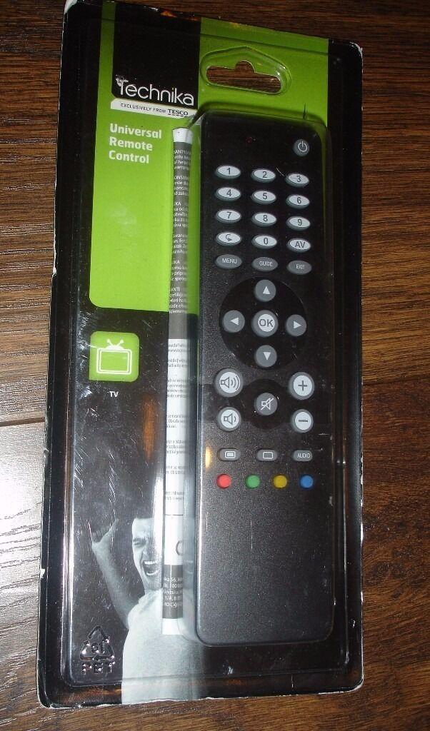 Technika Universal Tv Remote Control Rrp 1299 In Sparkbrook