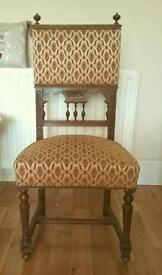 Victorian French dining chair