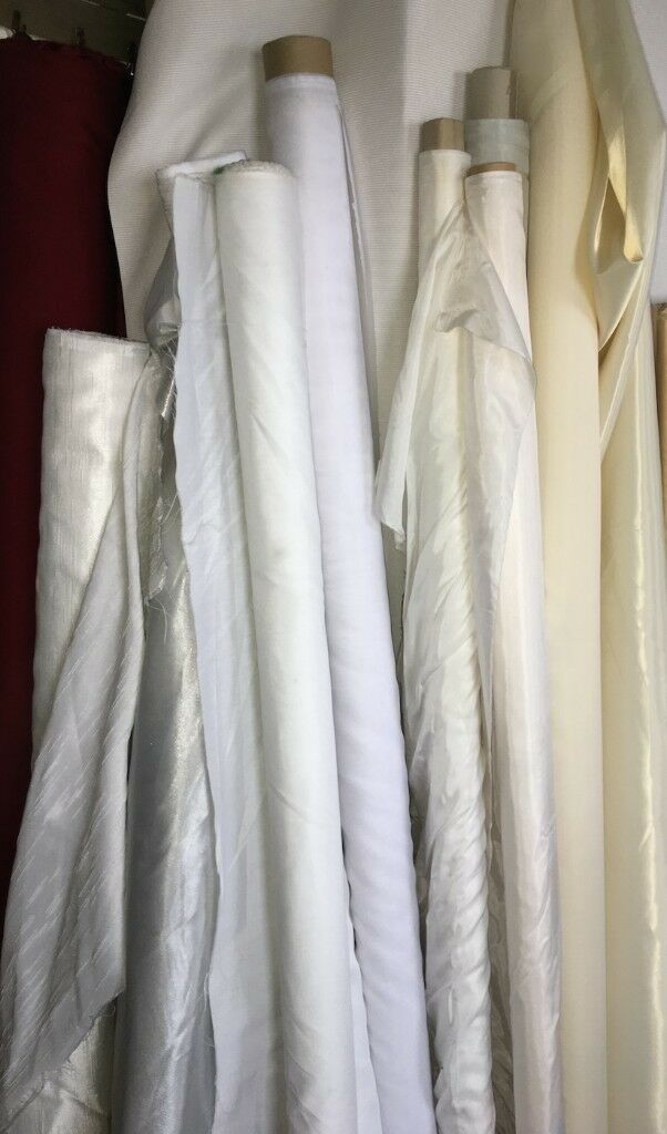 Assorted Fabric Rolls - Poly, Vinyl, Rayon, Silk | in Tower Bridge, London  | Gumtree