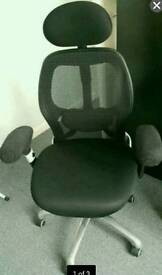 Ergonomic chair from Staples 4 year old