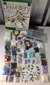 A78) NEW BULK JOB LOT CRAFTS. JEWELLERY MAKING. BEADS,CHARMS,PLIERS,WIRE &