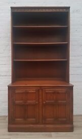 Ercol Bookshelf Over Sideboard (DELIVERY AVAILABLE FOR THIS ITEM OF FURNITURE)