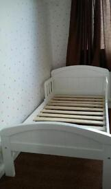 Kiddicare Country Toddler Bed - white