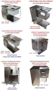 110V Cutter Slicer 250KG/H 2.5-25mm Blade Available