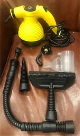 Hardly Used Comforday Handheld Pressurized Multi Purpose Steam Cleaner With Accessories.